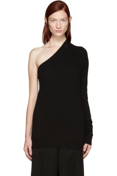 Jil Sander - Black Cashmere Single-Sleeve Sweater