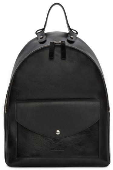 Jil Sander - Black Bridle Backpack