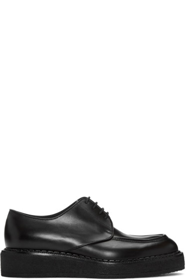Jil Sander - Black Leather Creepers
