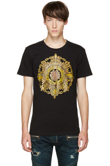Balmain - Black New B Logo T-Shirt