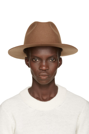 A.P.C. - Brown Fishing Fedora