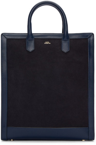 A.P.C. - Navy Gisele Tote