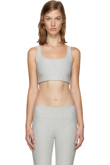 A.P.C. x Outdoor Voices - Grey Scoop Back Bra