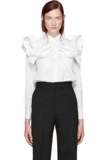Junya Watanabe - White Detailed Shirt
