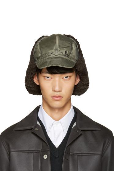 Junya Watanabe - Green Large Aviator Hat