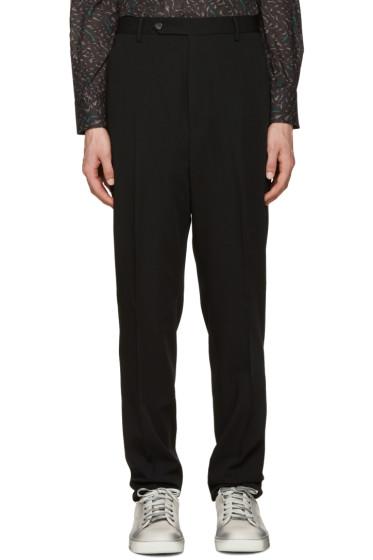 Lanvin - Black Wool Trousers