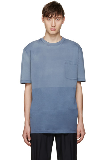 Lanvin - Blue Vintage Washed T-Shirt