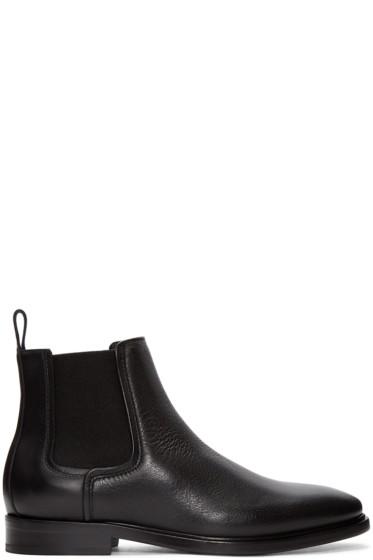 Lanvin - Black Leather Chelsea Boots