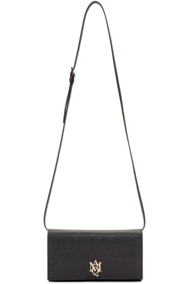 Alexander McQueen - Black Insignia Shoulder Bag