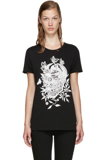Alexander McQueen - Black Skull T-Shirt