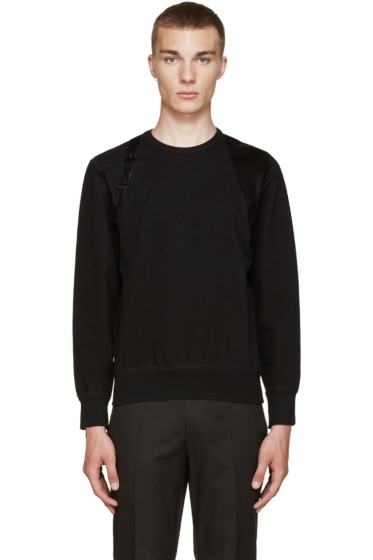 Alexander McQueen - Black Harness Pullover
