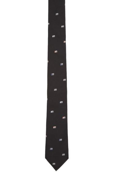 Paul Smith - Black Camera Tie
