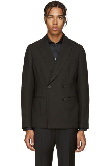 Paul Smith - Black Textured Wool Blazer