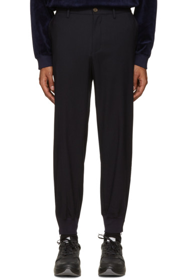Opening Ceremony - Navy Sage Jogger Trousers
