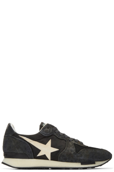 Golden Goose - Black Runner Sneakers