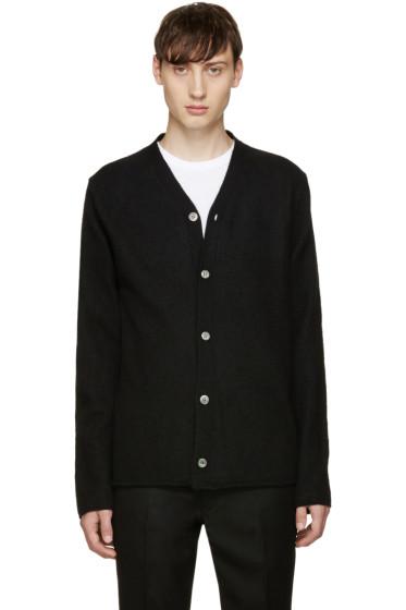 Comme des Garçons Shirt - Black Wool Cardigan