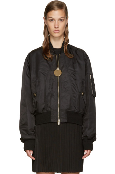 Givenchy - Black Bomber Jacket