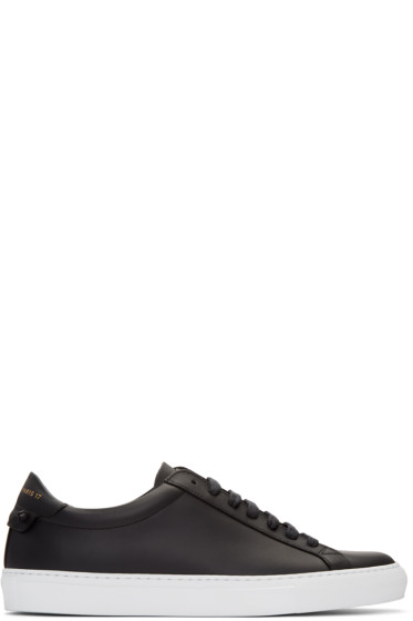 Givenchy - Black Urban Knots Sneakers
