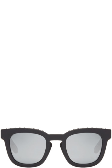 Givenchy - Black Matte Square Sunglasses