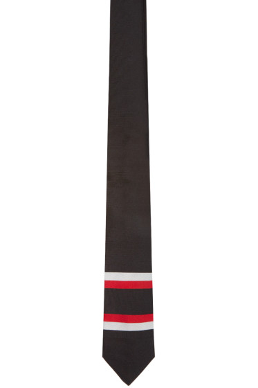 Givenchy - Black Striped Tie