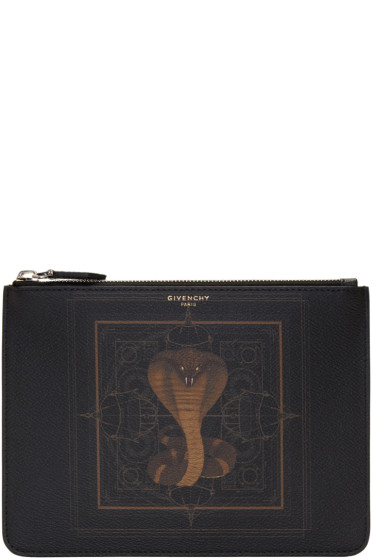 Givenchy - Black Cobra Pouch