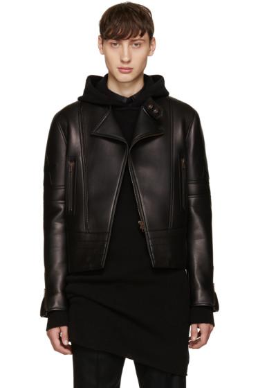 Givenchy - Black Leather Iconic Perfecto Jacket