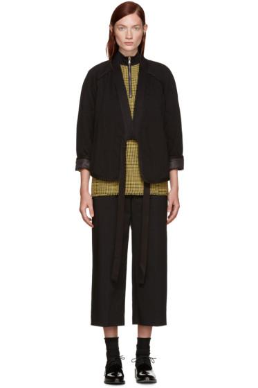3.1 Phillip Lim - Black Quilted Kimono Jacket