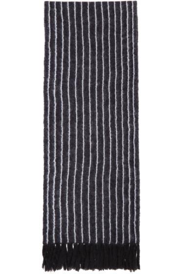 3.1 Phillip Lim - Navy Pinstripe Scarf