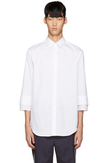 3.1 Phillip Lim - White Double Cuffs Shirt