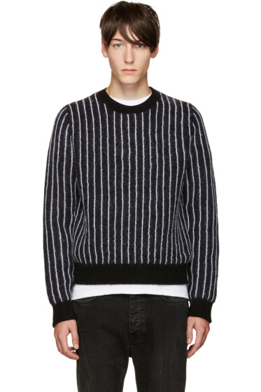 3.1 Phillip Lim - Navy Pinstripe Sweater