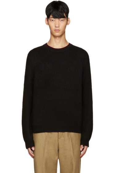 3.1 Phillip Lim - Black Wool Boxy Sweater
