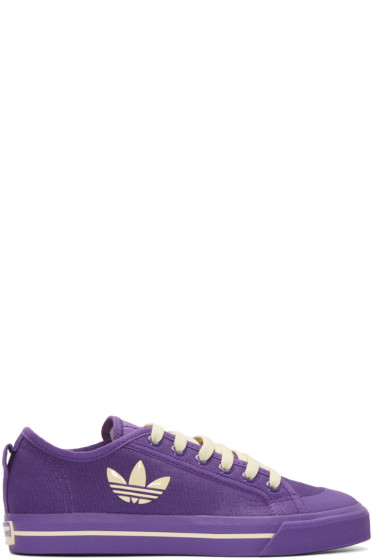Raf Simons - Purple adidas Edition Matrix Spirit Low Sneakers