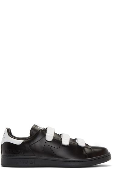 Raf Simons - Black adidas Edition Stan Smith Comfort Sneakers