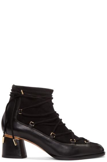 Nicholas Kirkwood - Black Outliner Boots