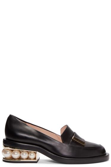 Nicholas Kirkwood - Black Casati Pearl Loafers