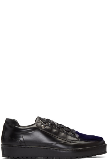 Want Les Essentiels - Black Hopkins Lugged Sneakers