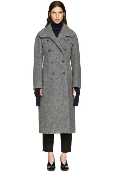 Carven - Grey Wool Coat