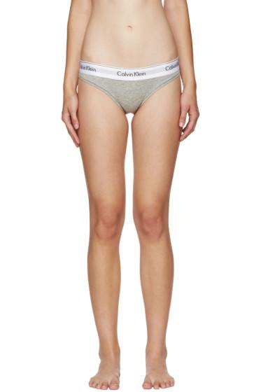Calvin Klein Underwear - Grey Modern Briefs