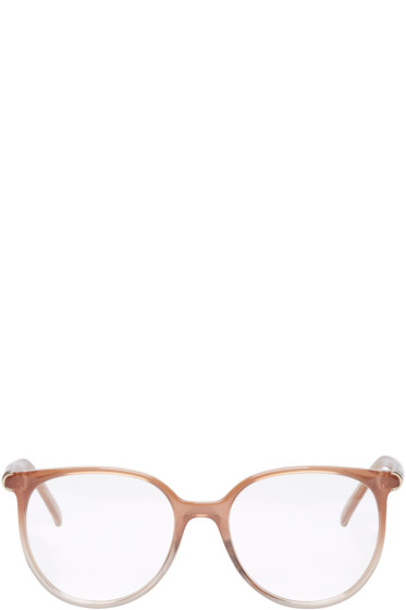 Chloé - Taupe Acetate Round Glasses