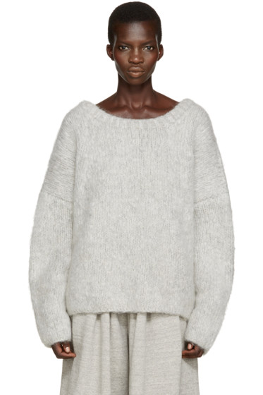Chloé - Grey Knit Sweater