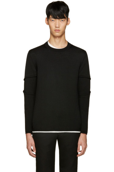 Comme des Garçons Homme Plus - Black Wool Sweater