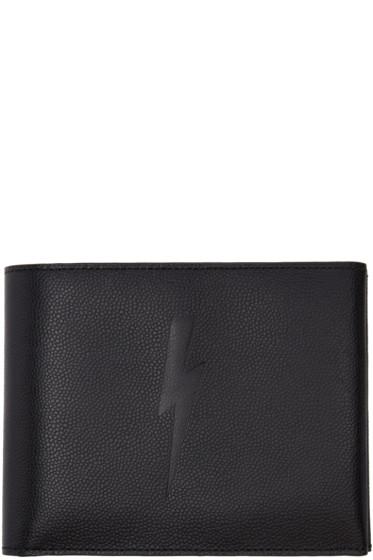Neil Barrett - Black Classic Thunderbolt Wallet