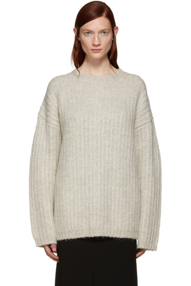 See by Chloé - Grey Mohair Sweater