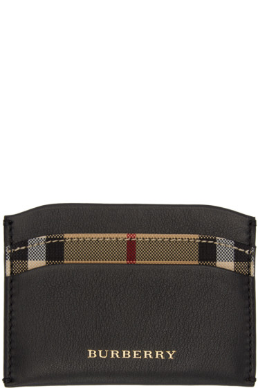 Burberry - Black Izzy Card Holder