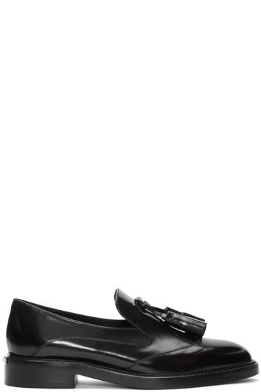 Burberry - Black Halsmoor Tassel Loafers