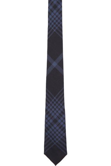 Burberry - Navy Stanfield Tie