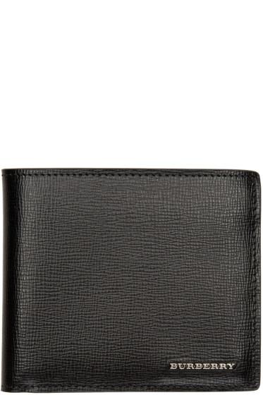 Burberry - Black Logo Wallet
