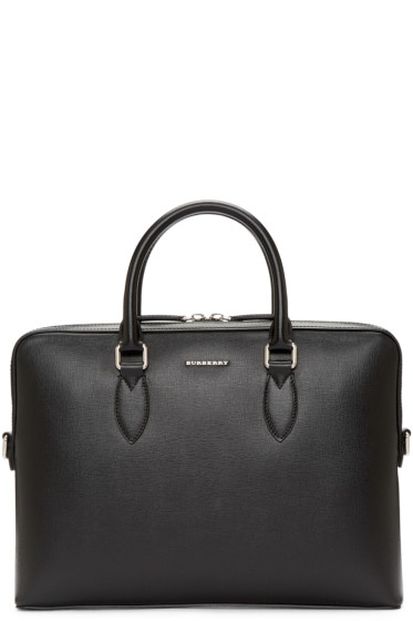 Burberry - Black The Barrow Briefcase
