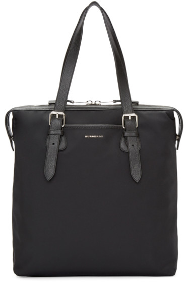 Burberry - Black Trenton Tote Bag