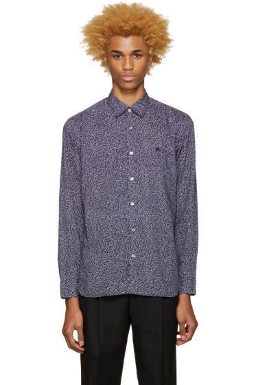 Burberry - Blue Printed Wilston Shirt